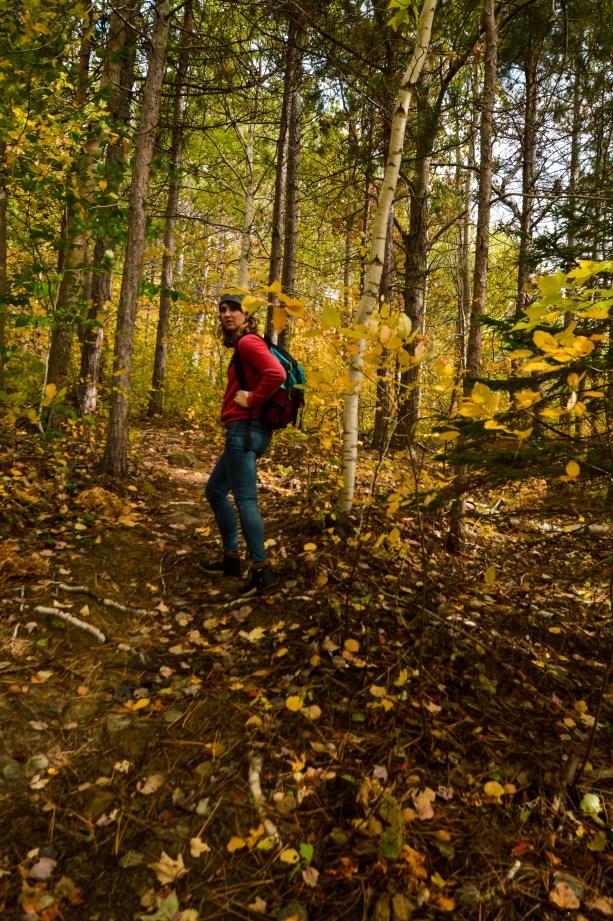 hiking in Nova Scotia