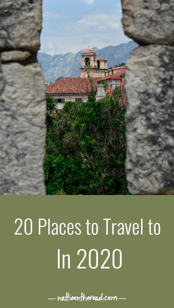 20 Places to Travel to in 2020