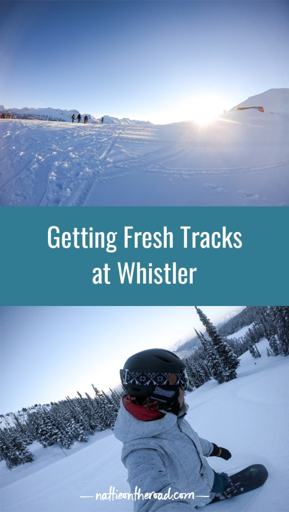 Getting Fresh Tracks at Whistler