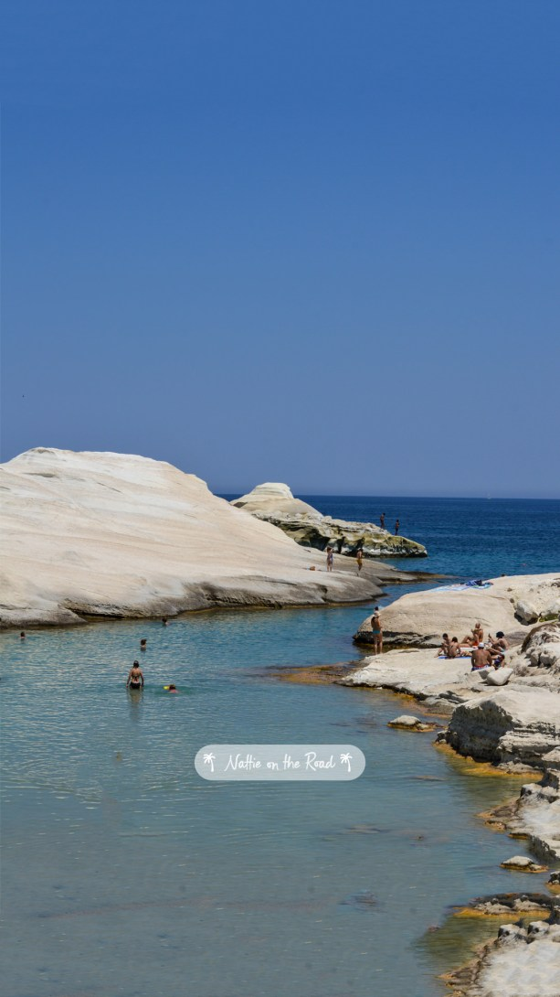 Milos Greece Beach