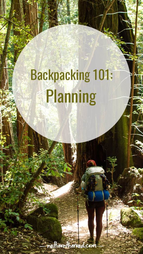 Backpacking 101: Planning
