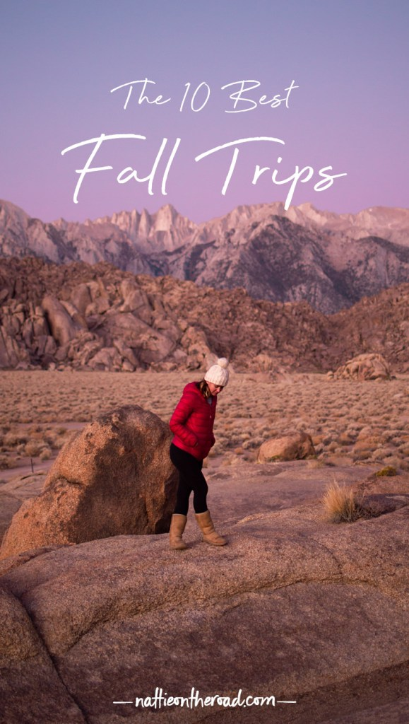 The 10 Best Fall Trips