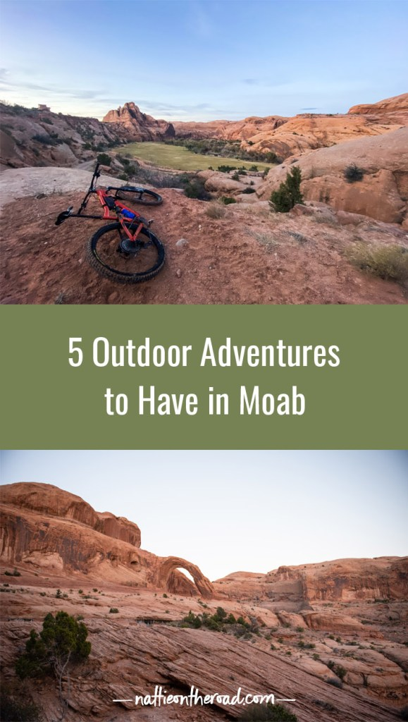 5 Outdoor Adventures to have in Moab