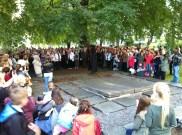 Nattmannens monolog på fattigkirkengården (Foto: May Lis Ruus)