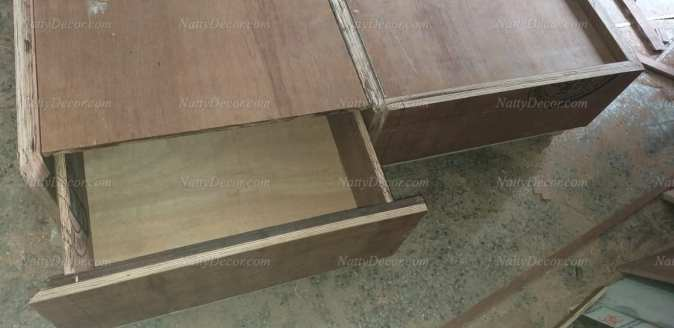 bed image with footboard drawers