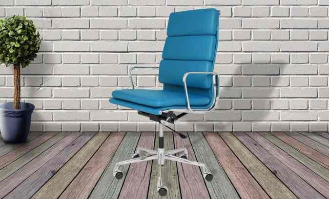 image of ergonomic chair which helps to maintain long hours of work from home office a breeze.
