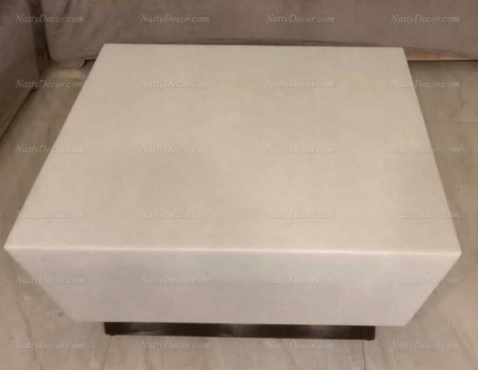 Centre table white
