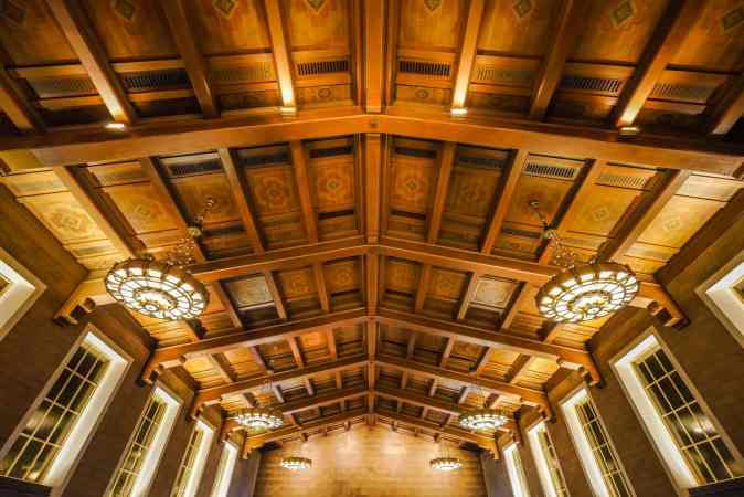 ceiling designs in an accomodation