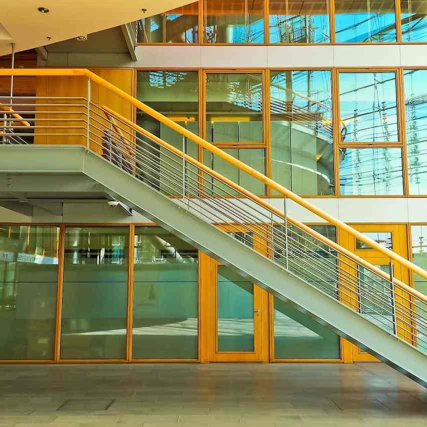 workspace stairs