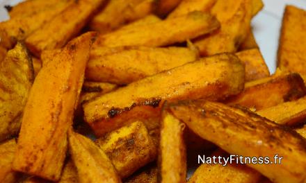 Recette frites de patates douces