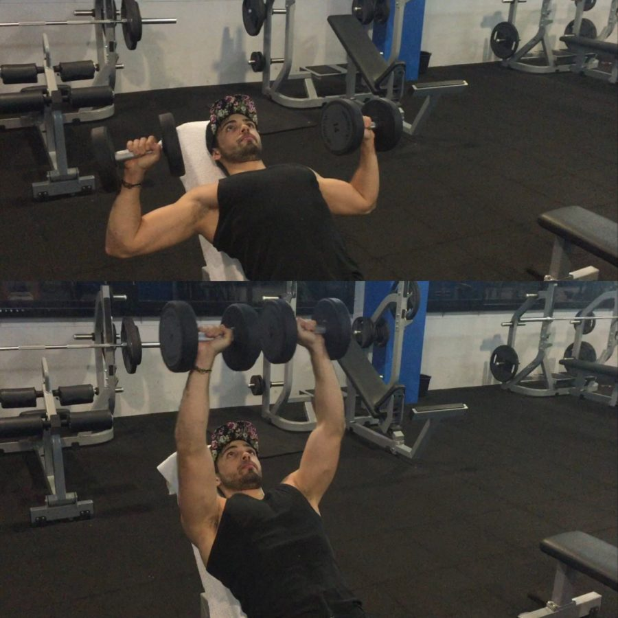exercice programme split- développé incliné