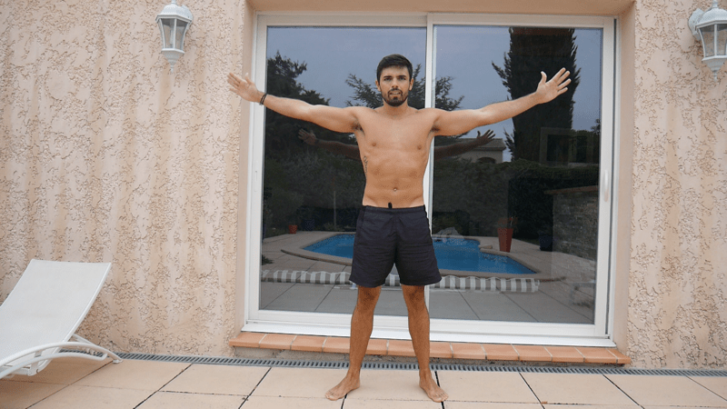 Jumping jacks exercice musculation naturelle