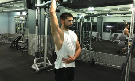 Exercice musculation: Extension Triceps Unilatérale avec haltères