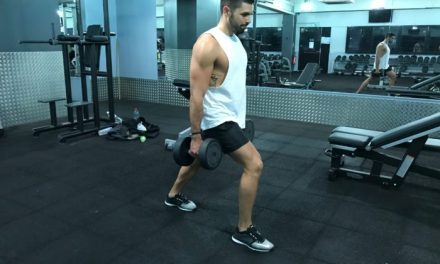 Exercice musculation: Les Fentes