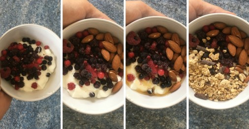 petit-déjeuner-musculation-sucré