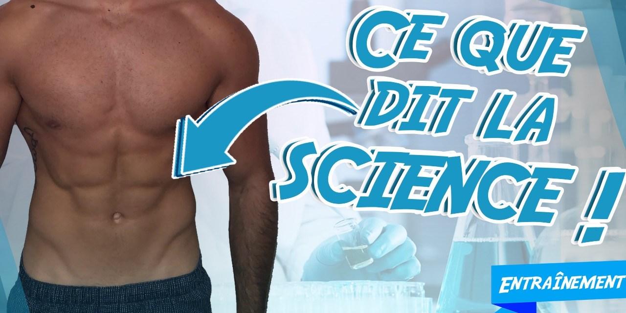 TOP 5 EXERCICES ABDOMINAUX : Ce que dit la science !