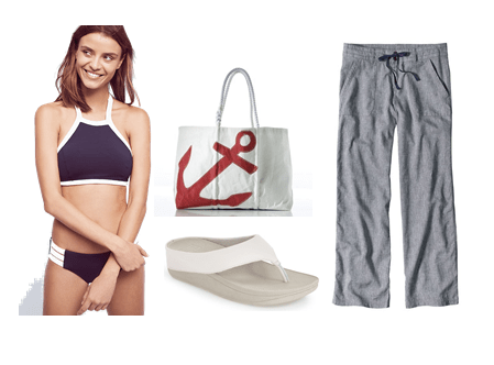 Swimwear Look 4: Active/Sporty