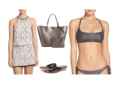 Swimwear Look 3: Chic/Sophisticated