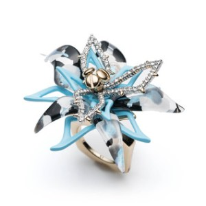 Alexis Bittar Abstract Flower Ring