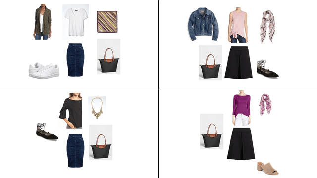 Spring 2017 Mini Capsule Outfits 13-16