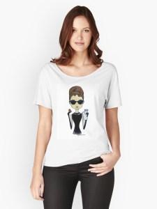 Graphic Tees | Fashionista | Fashion Tees | Audrey Hepburn