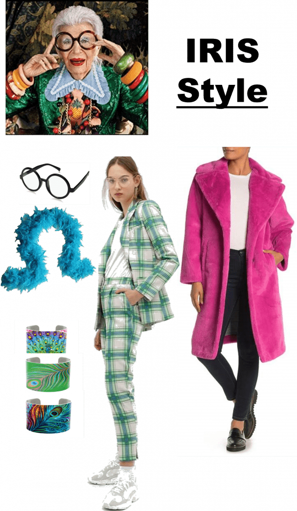 Fashion Icon Inspired Halloween Costumes | Iris Apfel