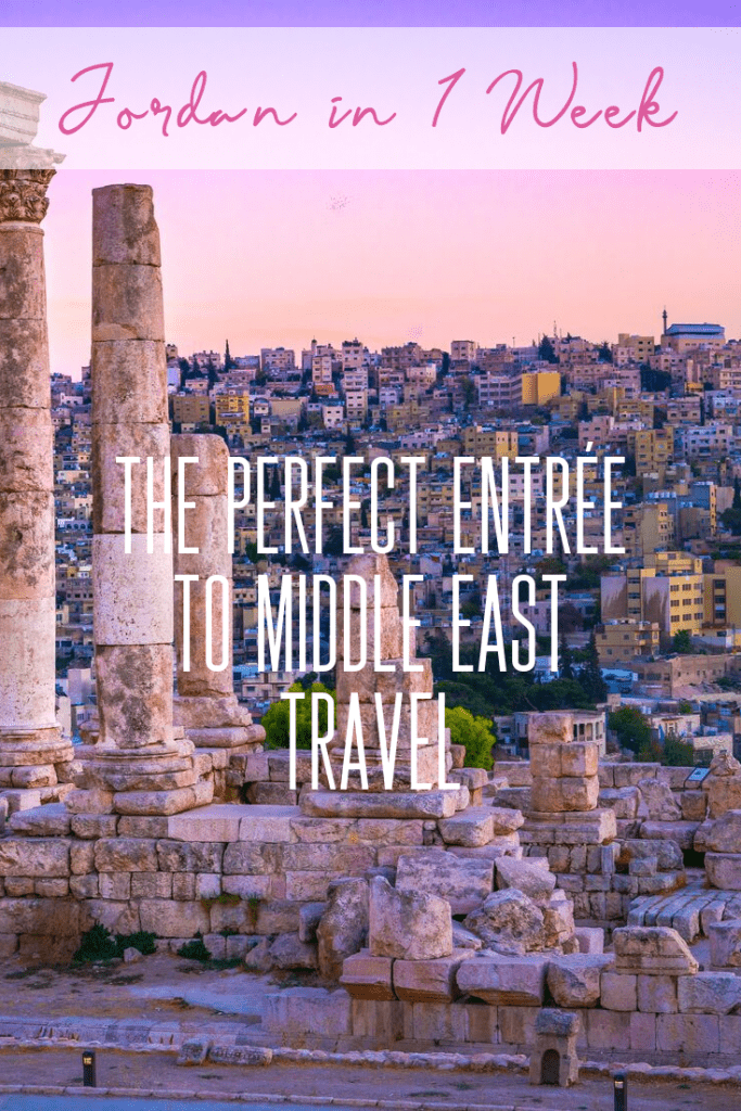 It's easy to see Jordan in One Week, one of the reasons making it a perfect entrée to Middle East travel. Come explore this gem of a country with me today!