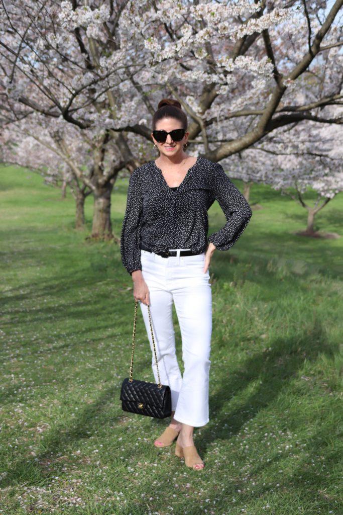 White Denim Look for Spring