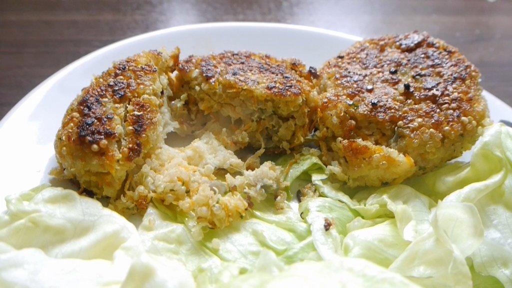 Quinoa-Burger | Vegetarisch, Einfach, Gut.
