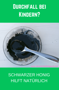 Durchfall bei Kindern_ Schwarzer Honig hilft natürlich