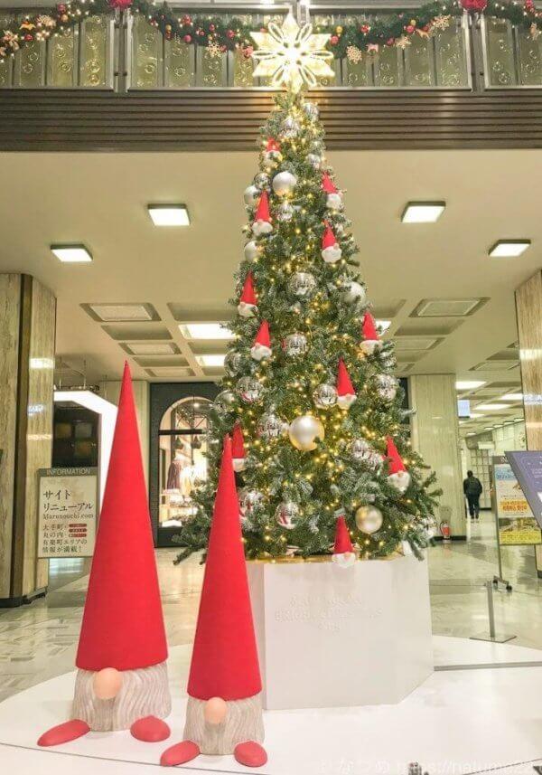 有楽町・国際ビルの2018年クリスマスツリー