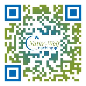 QR Code Natur-Wolf