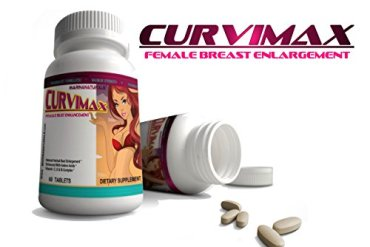 2 CURVIMAX Female Breast Enhancement and Enlargement Pills Naturaful Beauty
