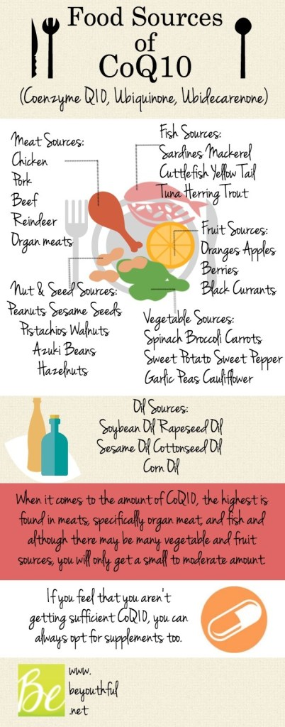 CoQ10 Food Sources