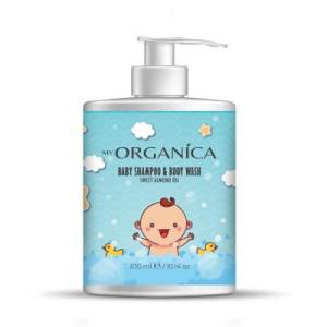 Baby Shampoo For Hair And Body With Almond Oil 300ml.
