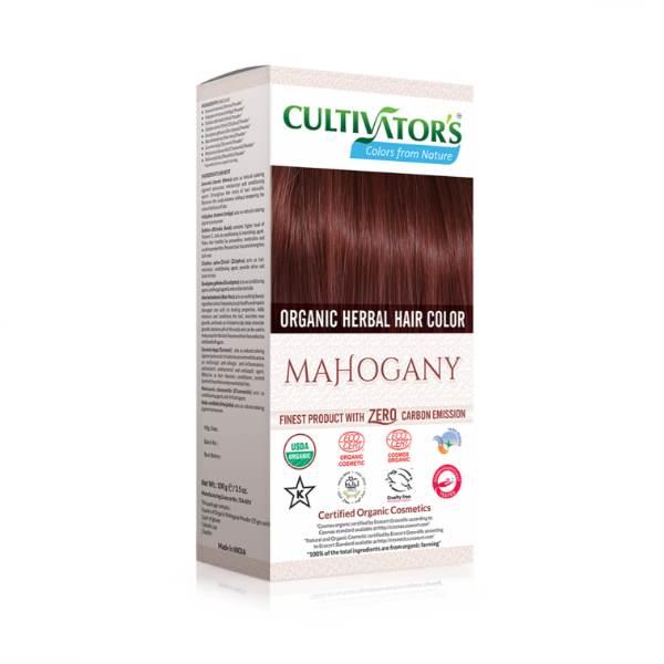 Organic herbal hair dye mahogany Cultivator's x100g