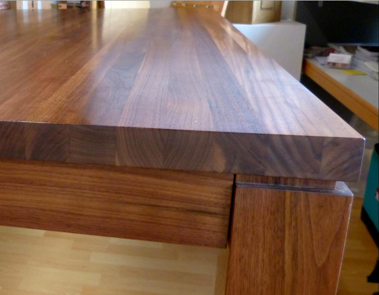 Tischplatte Arbeitsflache Hartwachsol Oder Wachs Natural Naturfarben Aktuell