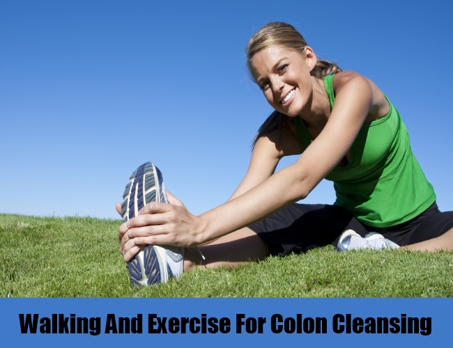 Walking And Exercise For Colon Cleansing