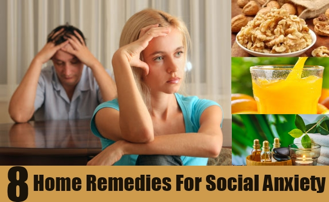 Effective Home Remedies For Social Anxiety