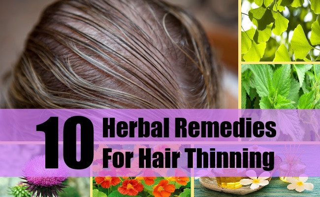 Herbal Remedies For Hair Thinning