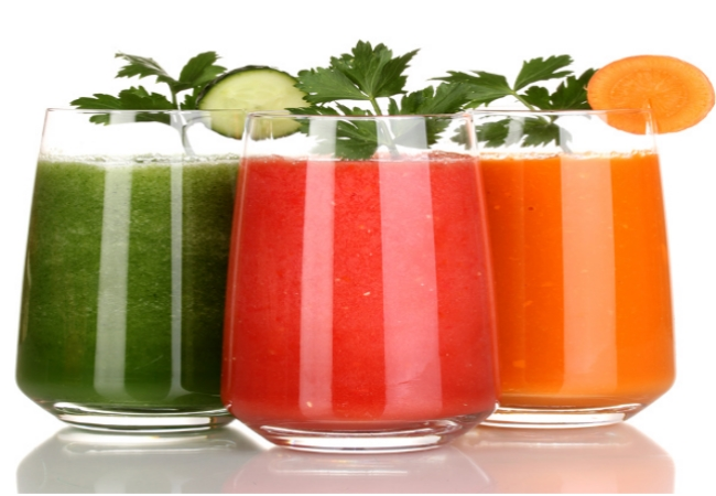 Increase The Consumption Of Vegetable Juices
