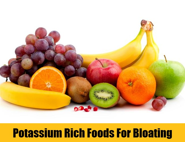 Potassium Rich Foods For Bloating