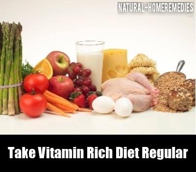 Vitamin Rich Diet