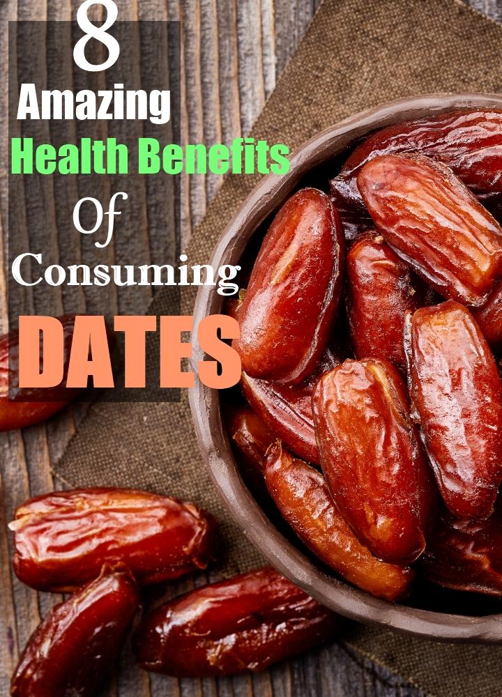 8 Amazing Health Benefits Of Consuming Dates