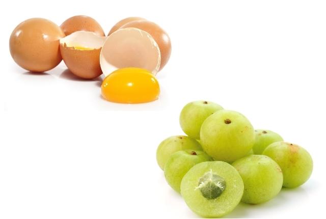 Egg Yolk And Indian Gooseberry