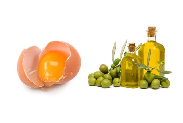 Egg Yolk And Olive Oil