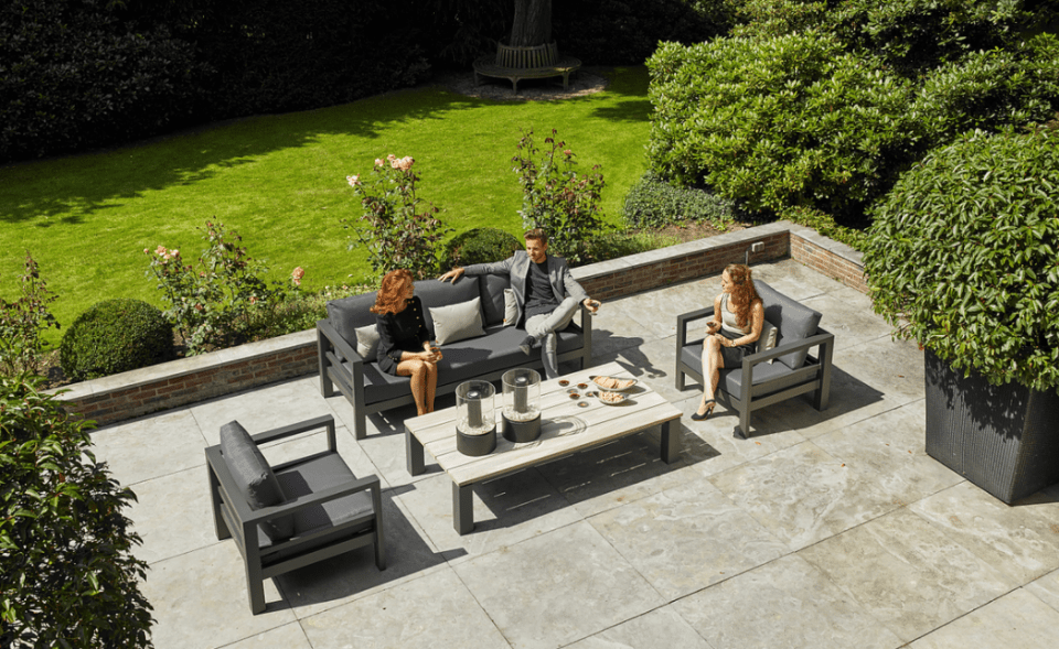 DELTA Outdoor Lounge Furniture Set