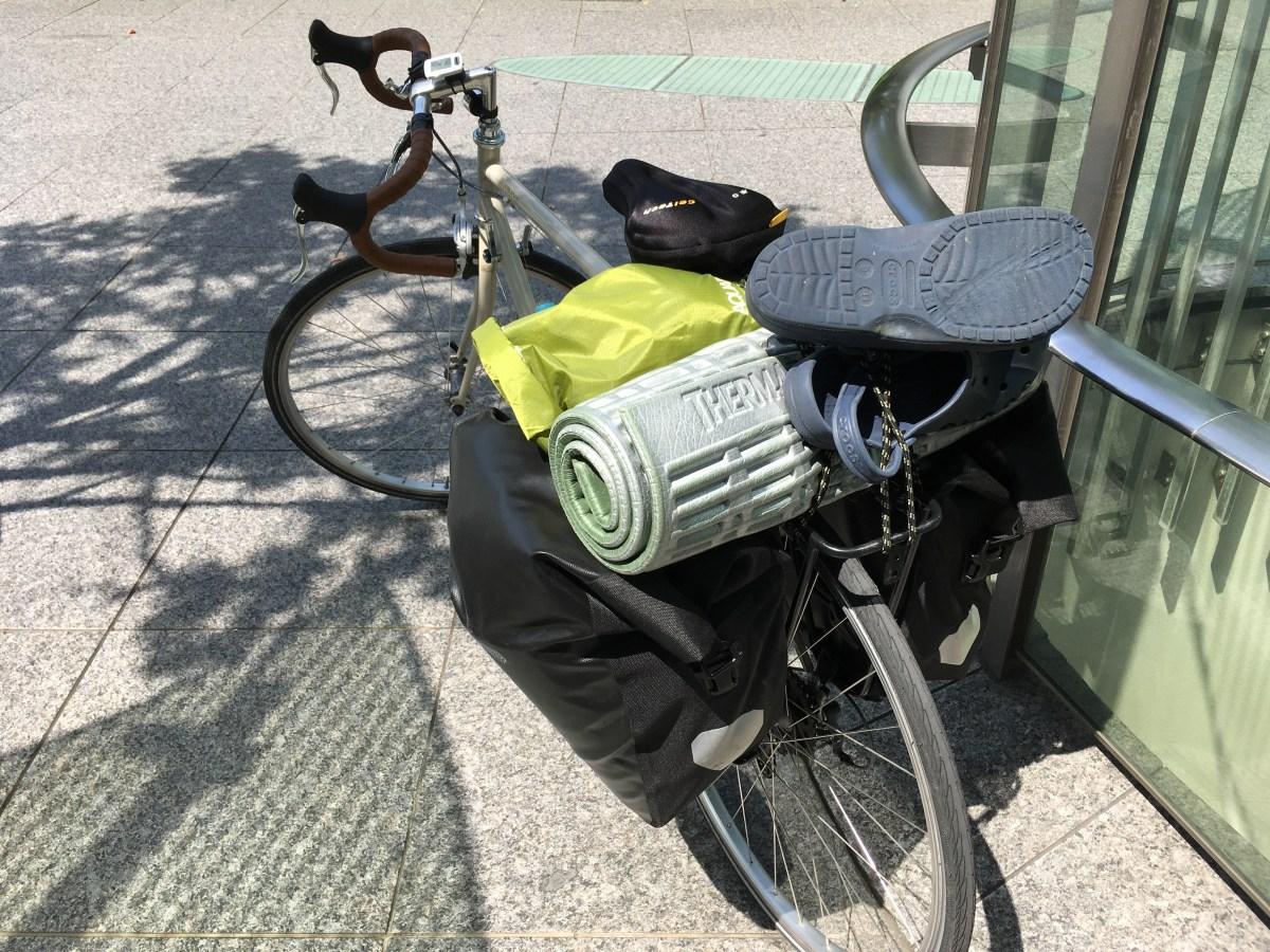 【自転車旅】装備紹介 車体以外