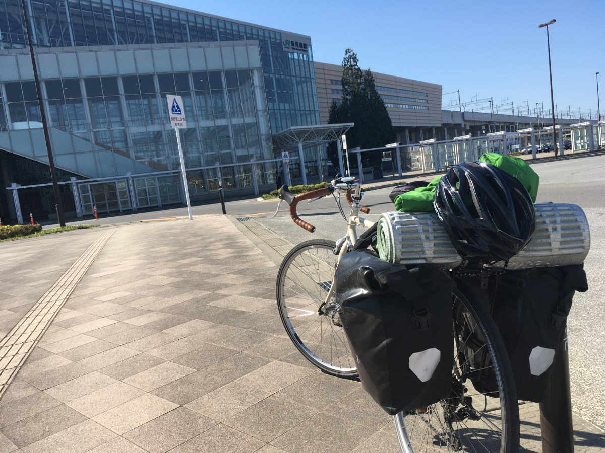 【自転車旅】福井⇒青森(8日目 青森県つがる市→青森県青森市)