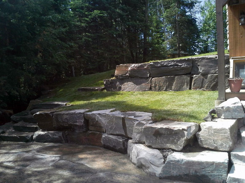 Patios And Terraces Natural Stone Landscape